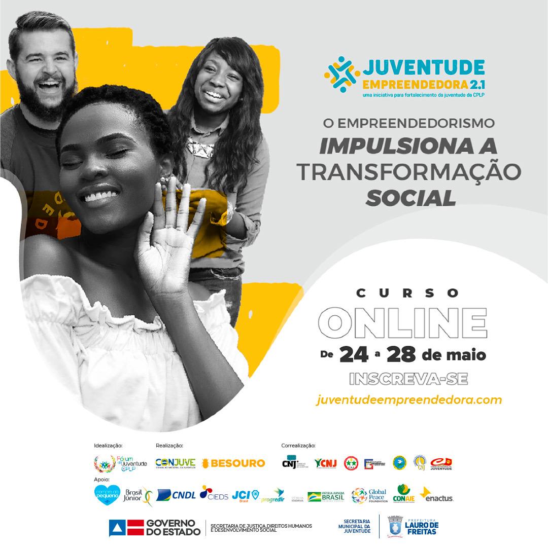 Prefeitura de Lauro de Freitas firma parceria com o Programa Juventude Empreendedora