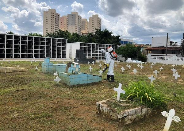 Maio registra aumento de mais de 50% em média de mortes na Bahia