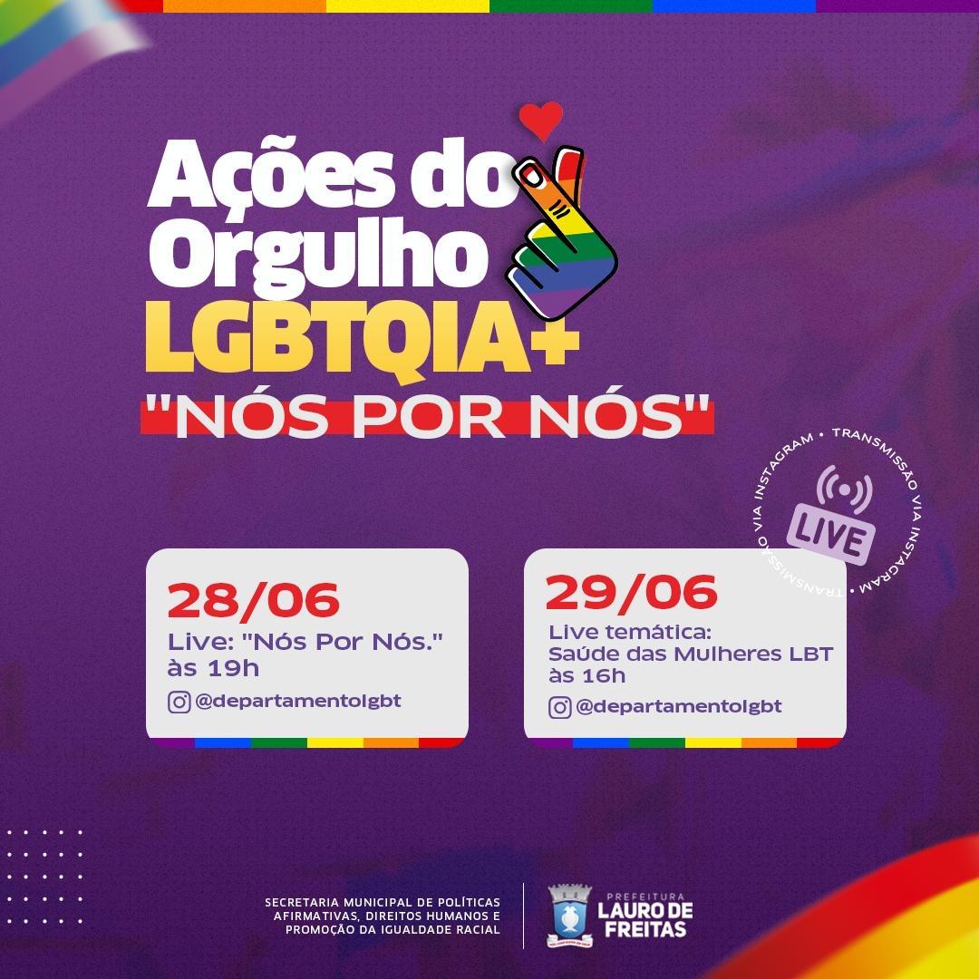 Lauro de Freitas promove ações em alusão ao Dia Internacional do Orgulho LGBTQIA+
