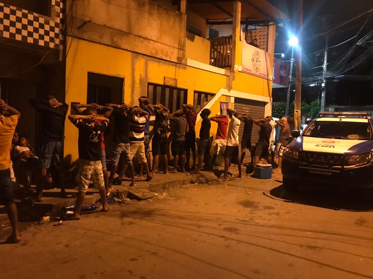 Em Lauro de Freitas, Força-Tarefa de Fiscalização interrompe quatro festas clandestinas no feriado de São João