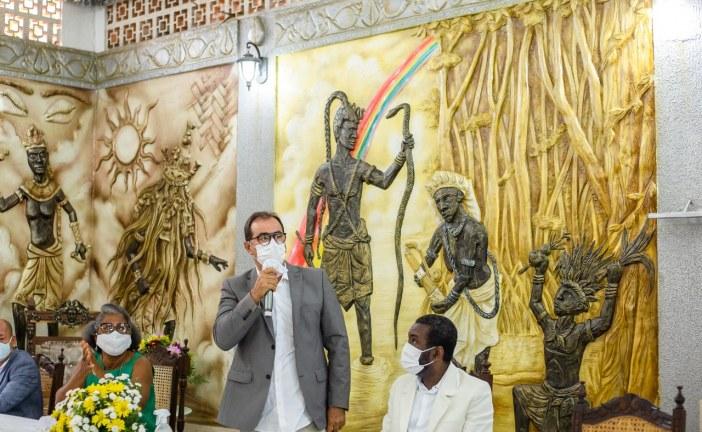 Referência em ação social, Terreiro Ilê Oba L'Okê é reconhecido como Patrimônio Histórico e Cultural de Origem Africana e Afro-Brasileira de Lauro de Freitas