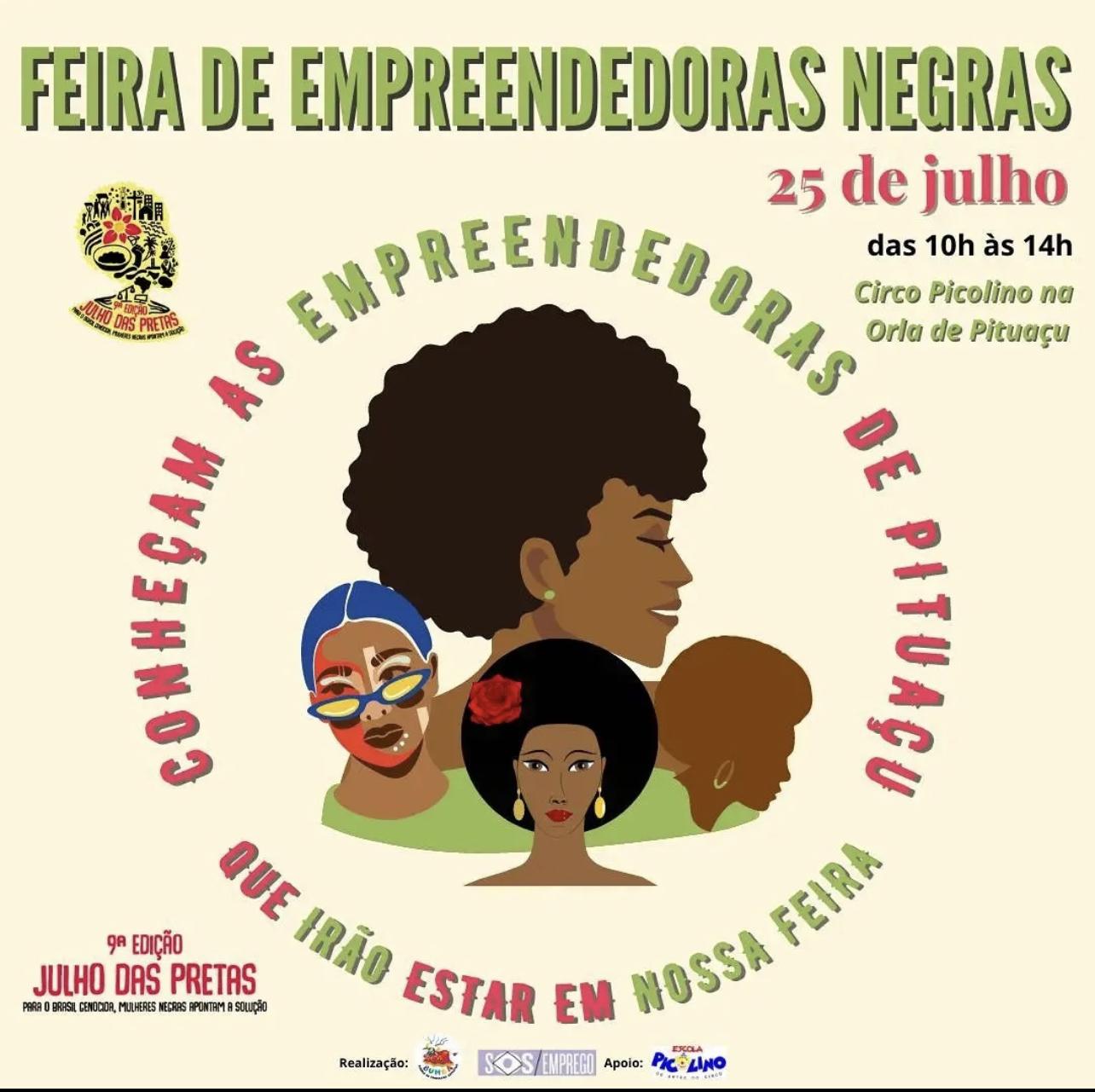 Feira de Empreendedoras Negras celebra o Dia da Mulher Negra Latino-Americana e Caribenha