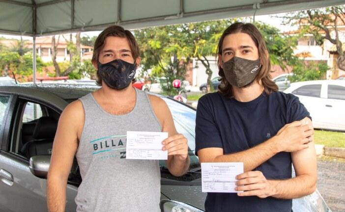 Sem filas, Lauro de Freitas amplia vacinação para pessoas com 34 anos ou mais nesta quinta-feira (5)