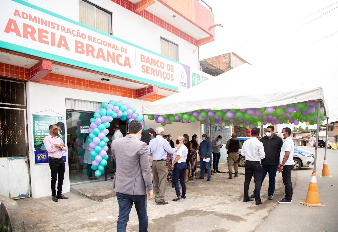 Moradores de Areia Branca ganham Banco de Serviços na Administração Regional do bairro