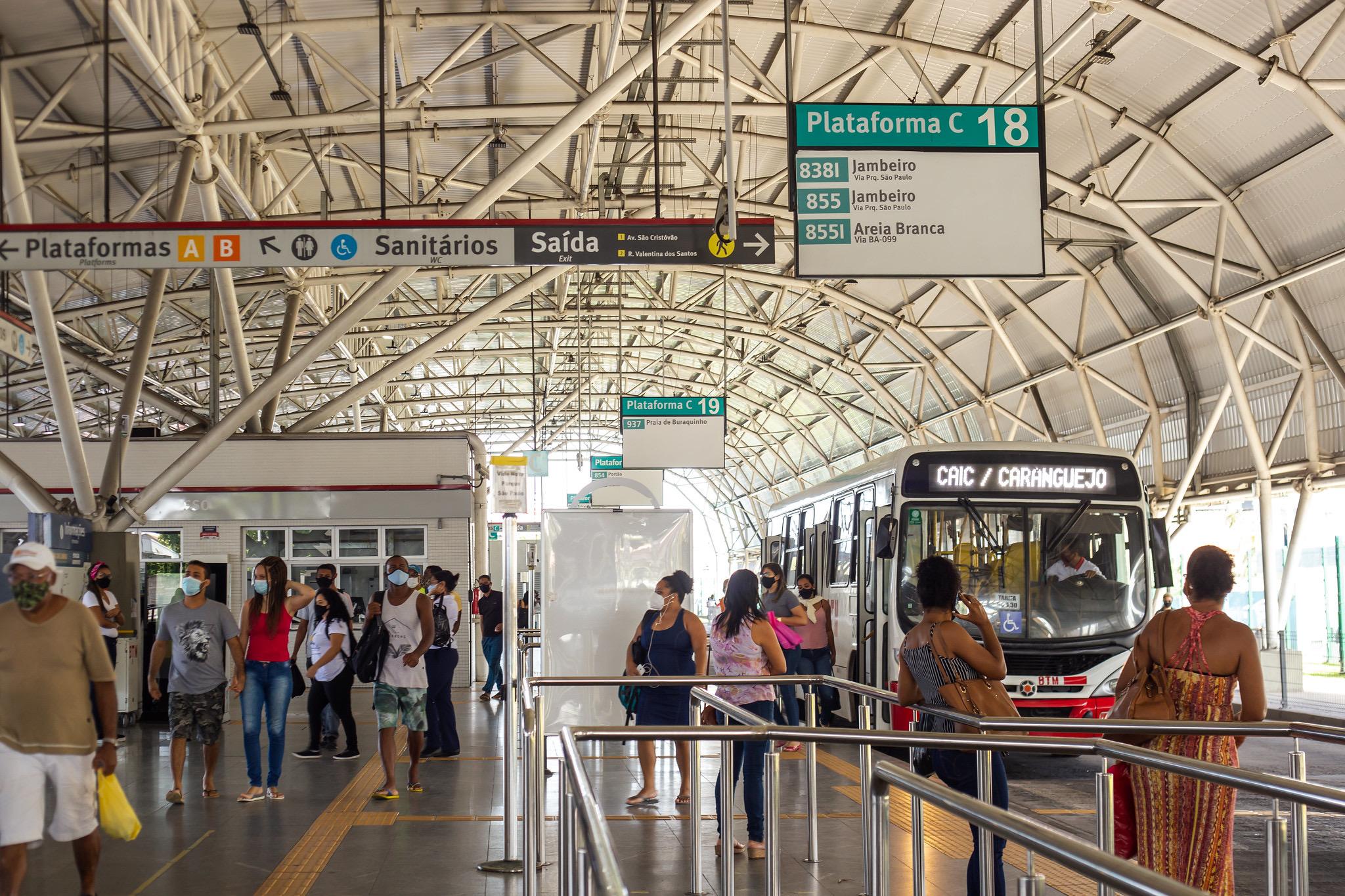 Em funcionamento há três anos, estação de transbordo do metrô traz segurança e conforto aos moradores de Lauro de Freitas e região