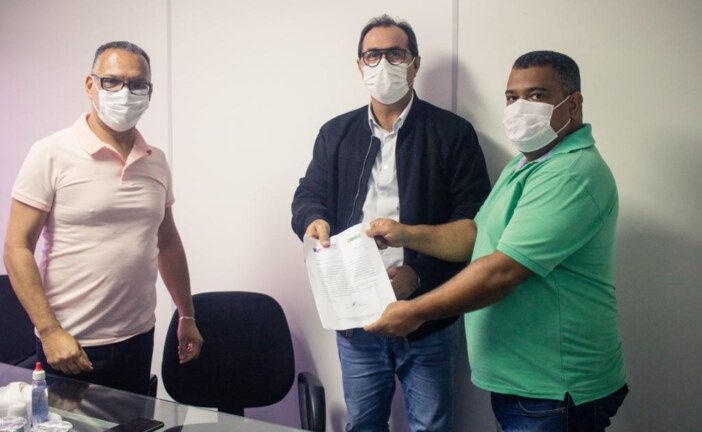 Sindicato dos Condutores de Ambulância do Estado da Bahia buscam apoio do vice-prefeito de Lauro de Freitas para as pautas da categoria