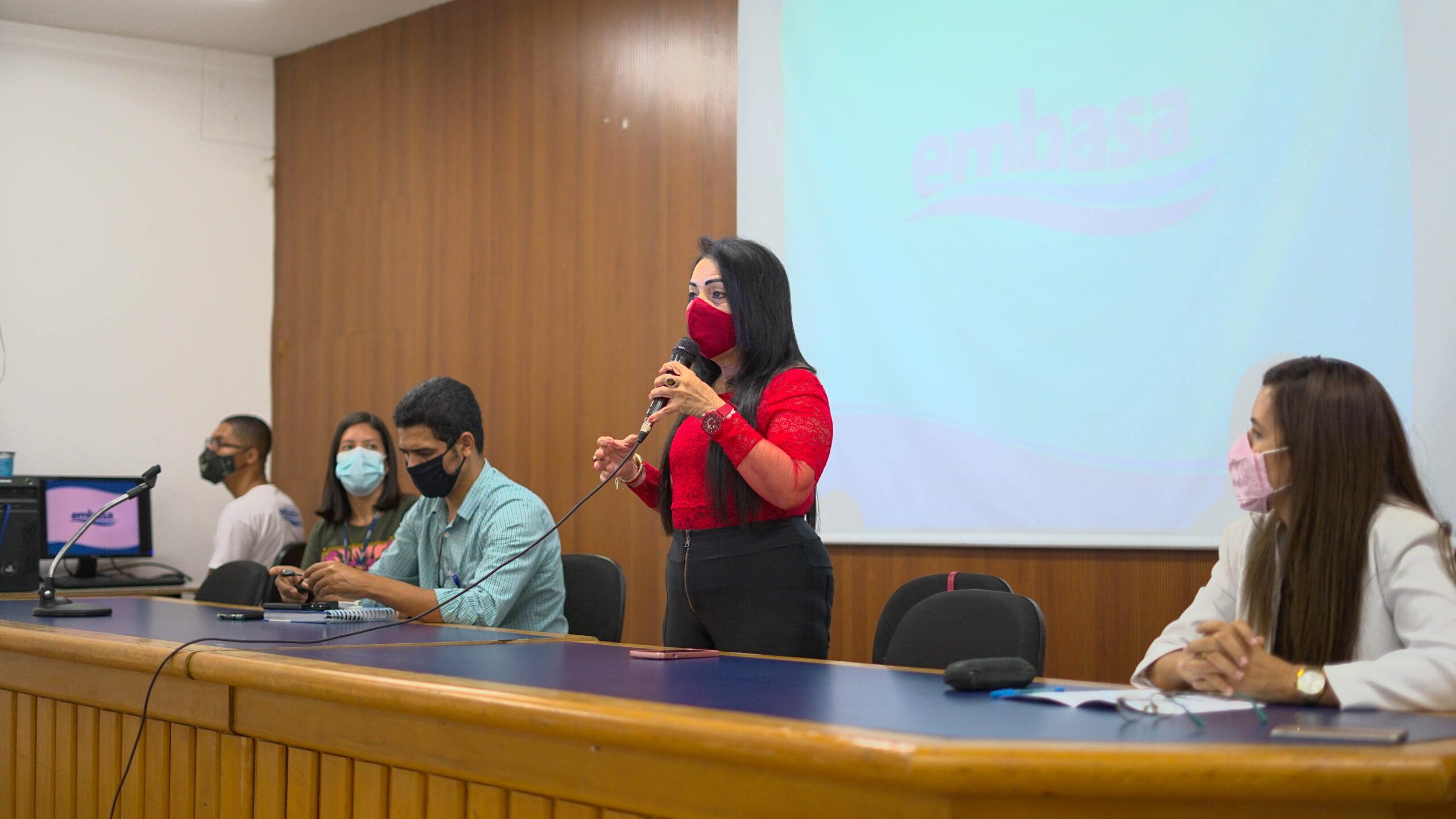Em reunião pública, Embasa destaca retomada das obras do Sistema de Esgotamento Sanitário de Lauro de Freitas