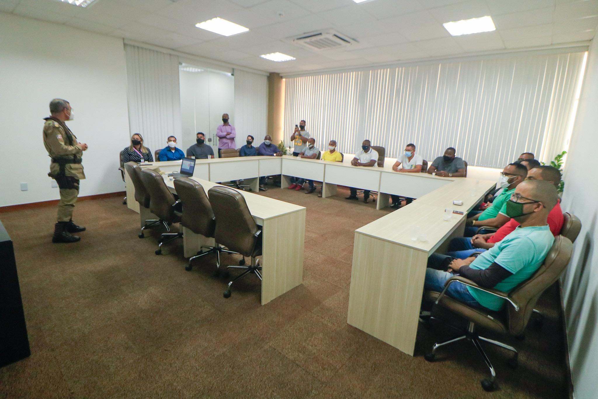 PM treina agentes de portaria da Prefeitura para garantir mais segurança a servidores e munícipes