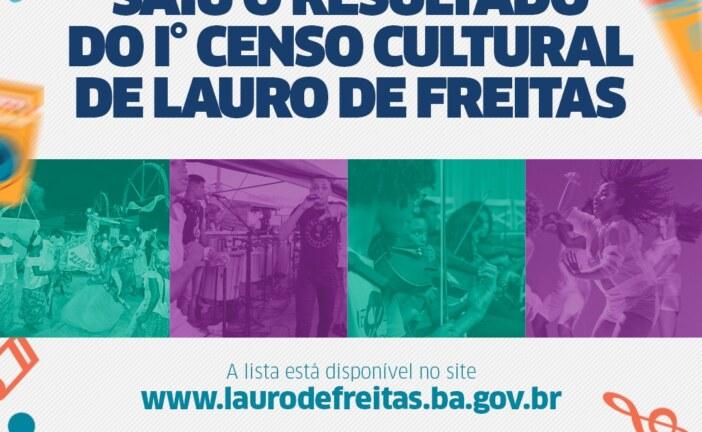 Lauro de Freitas divulga resultado do 1º Censo Cultural. Agentes habilitados podem retirar certificados a partir da próxima semana
