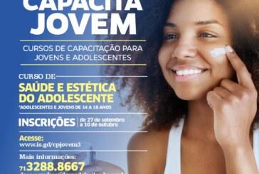 """Capacita jovem: SEMDESC abre inscrições para o curso de """"Saúde e Estética do Adolescente"""" nesta segunda-feira (27)"""