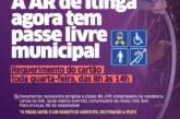 População de Lauro de Freitas agora pode requerer Passe Livre Municipal toda quarta-feira na AR de Itinga