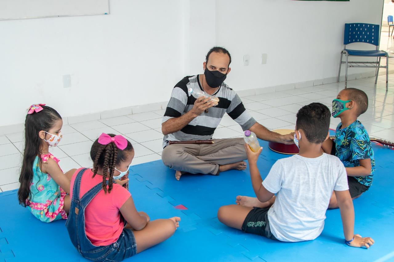 Educação municipal inicia acolhimento nas escolas como preparação para aulas semipresenciais em Lauro de Freitas
