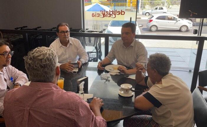 PCdoB, PSB e PT de Lauro de Freitas discutem construção de federação partidária para eleições de 2022