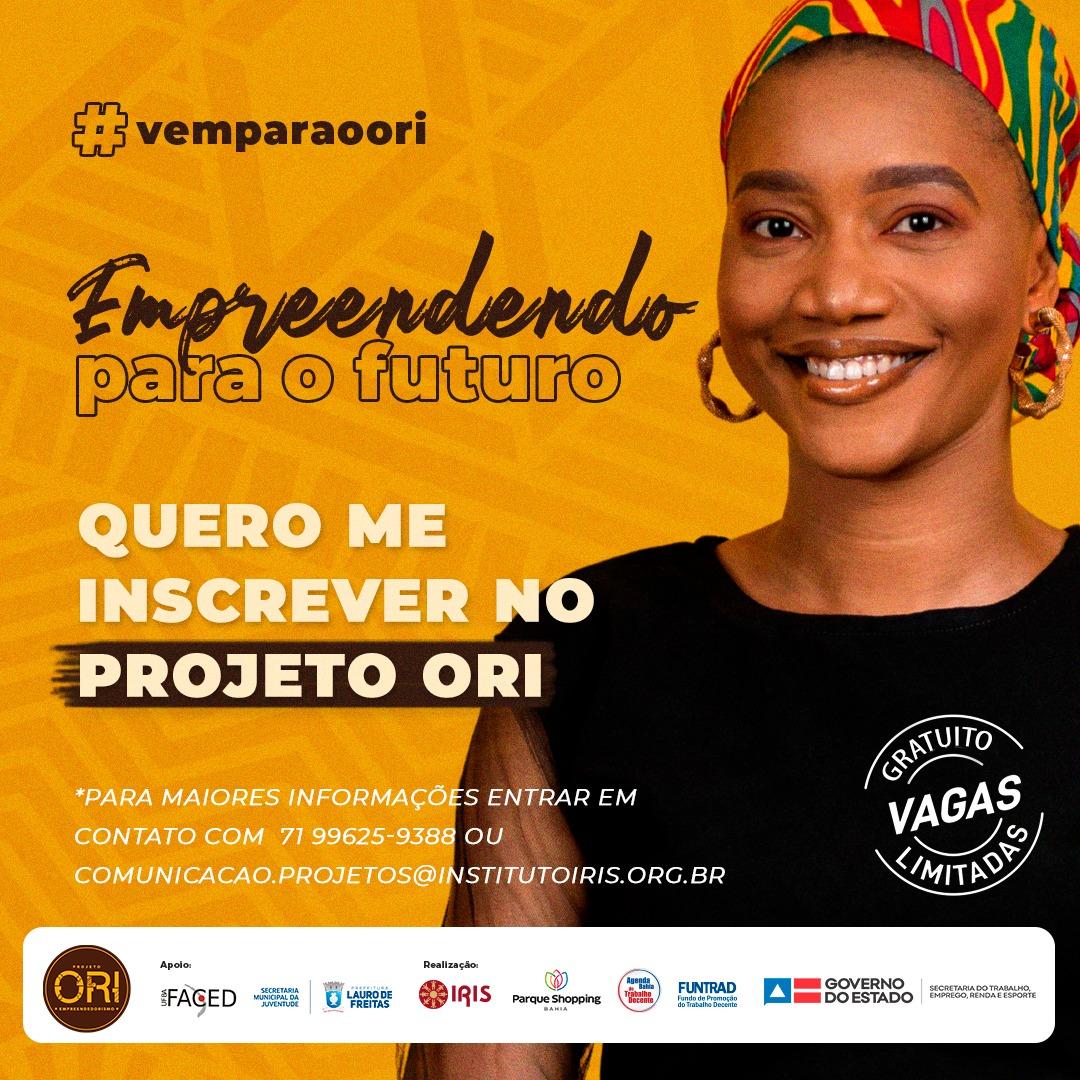 Parceria entre SEJU e Instituto Iris oferece curso gratuito de empreendedorismo para jovens de Lauro de Freitas