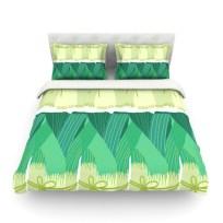 Bedspread (Leeks)