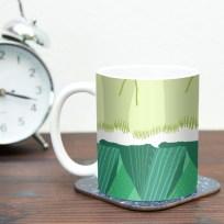 mug (Leeks)