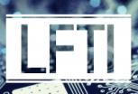 LFTI logo in blue, designed by Brandon Mattalo
