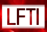 LFTI logo in red, designed by Brandon Mattalo