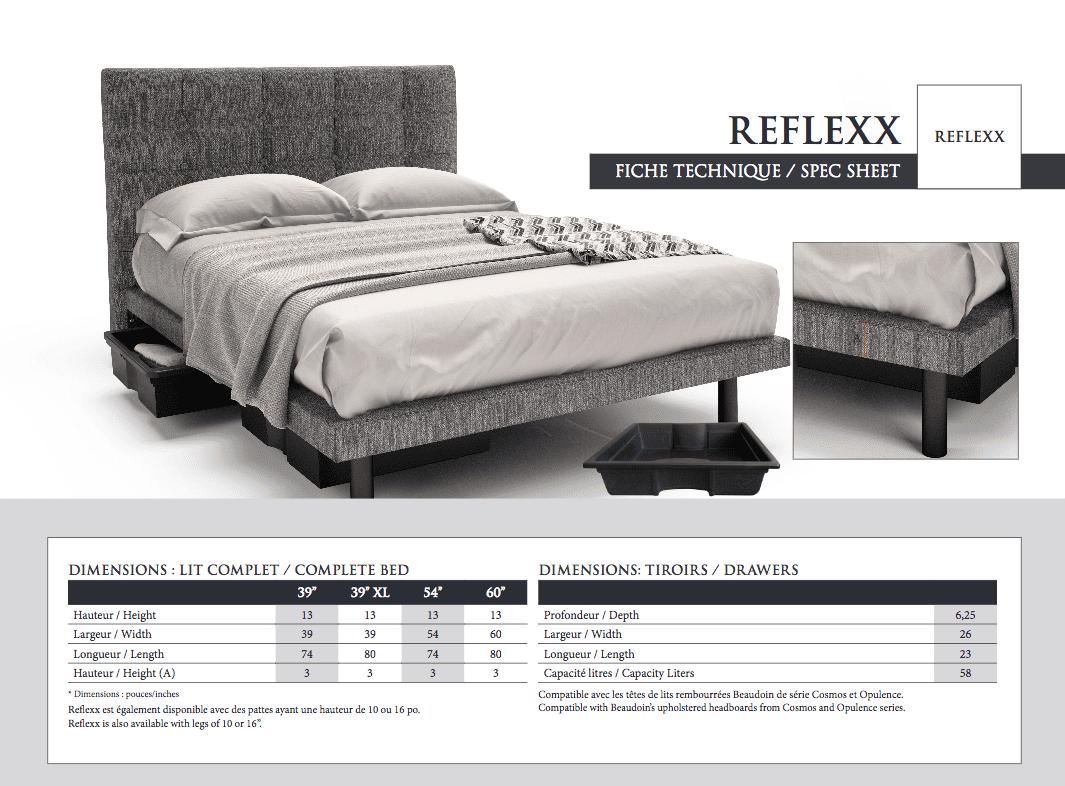Reflexx Platform Custom Made Upholstered Bed Frame L Furniture Kelowna