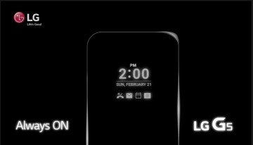 LG G5 Release Details Continuing to be Revealed, Might Come with the Always-On Display