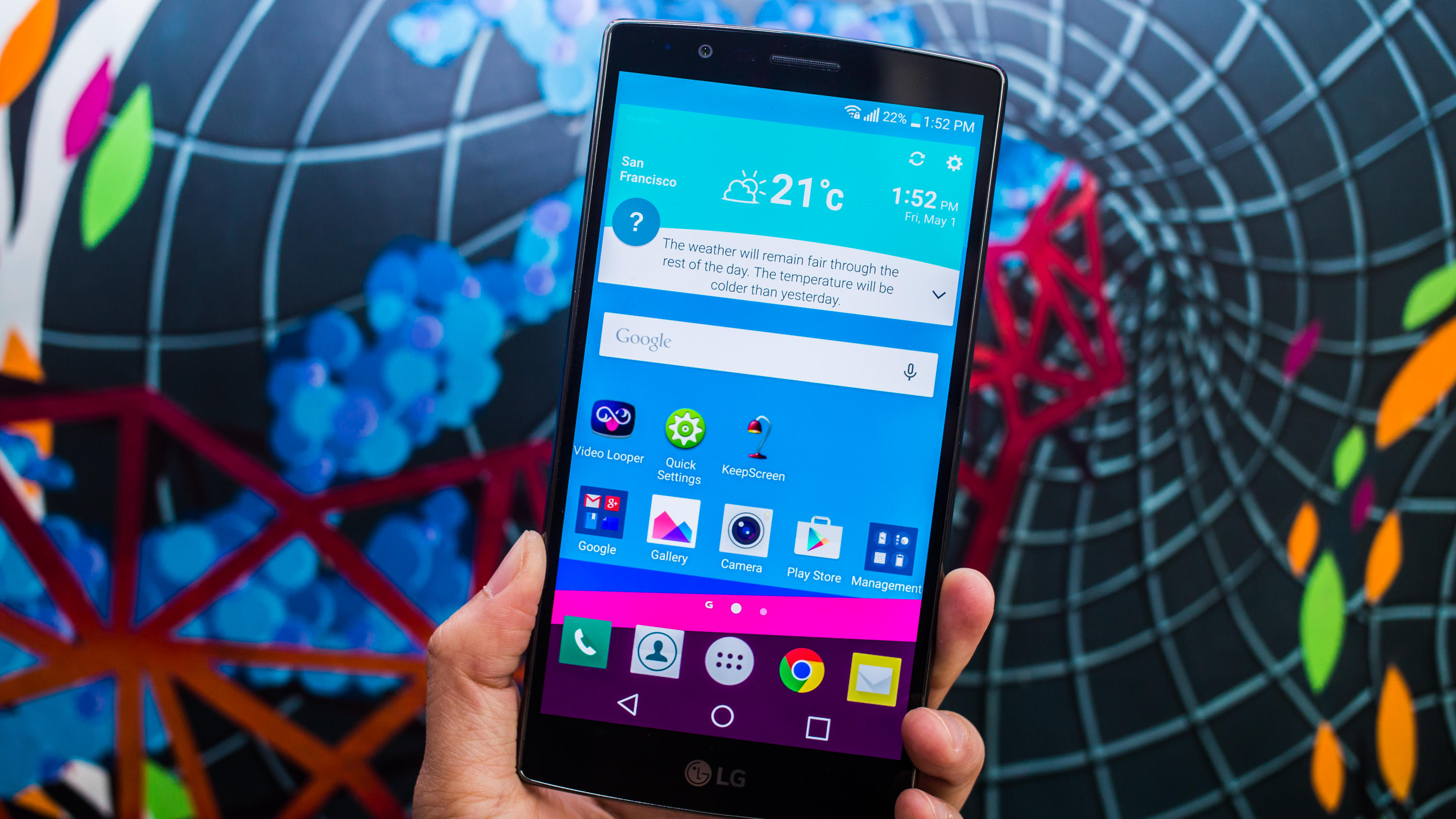 #1 in Our List of the Best LG G4 Features – Super Crisp Display