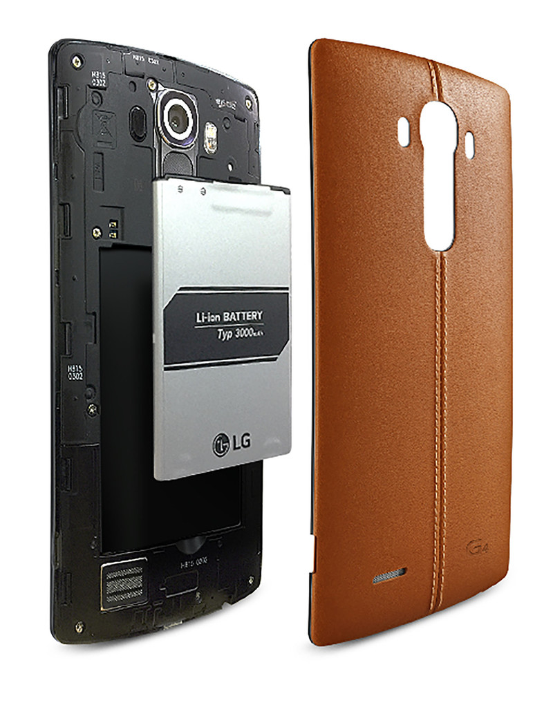 #4 in Our List of the Best LG G4 Features – 3000 mAh Removable Battery