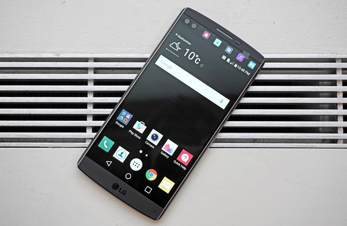 #2 in Our List of the Hottest LG Cell Phones Models - LG V10