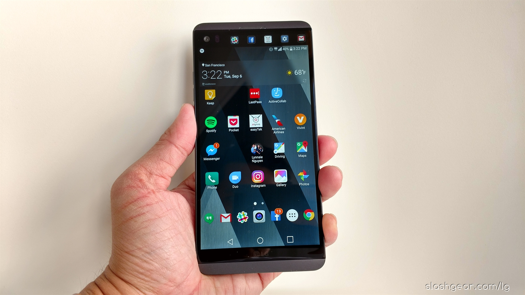 LG New Mobile List - LG V20