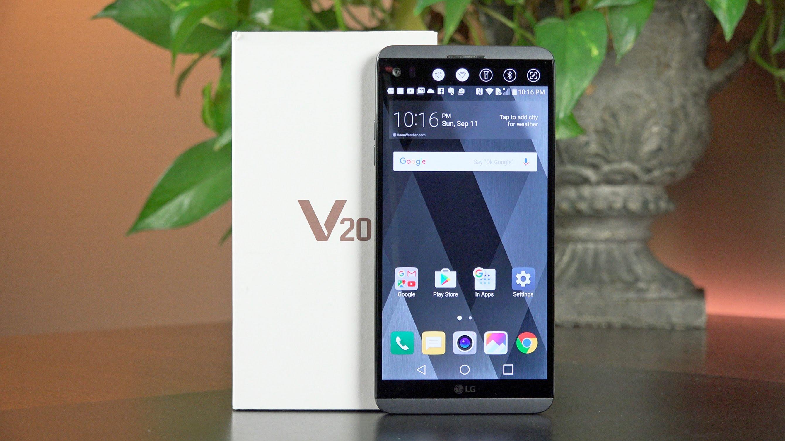 Hottest LG Mobile Phones - LG V20