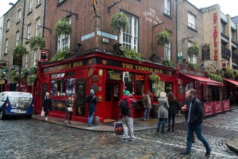 Dublin - The Temple Bar pub