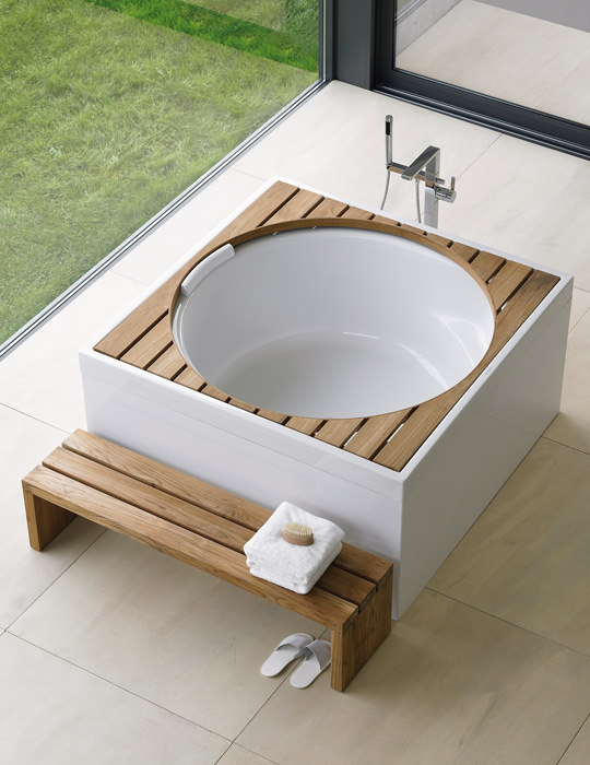 Duravit Blue Moon 1400mm Square Bath With Combi System E