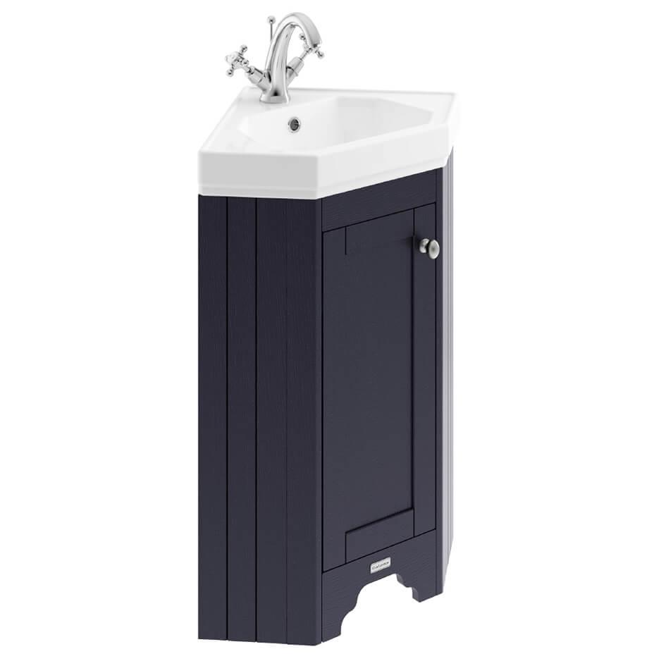 old london 595mm corner vanity unit with basin