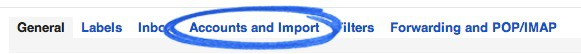 Accounts and Import