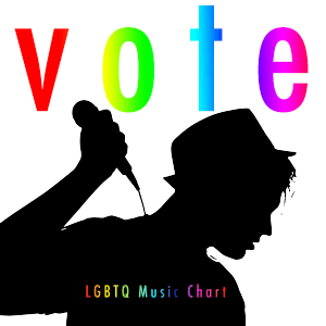 LGBTQ Music Chart - Vote ad