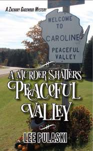 Book Cover: A Murder Shatters Peaceful Valley
