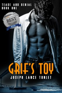 Book Cover: Grif's Toy (Tease and Denial Book One)