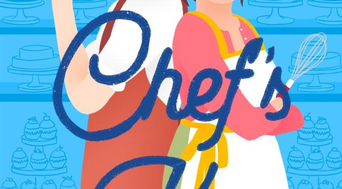 Exclusive Cover Reveal: <em>Chef's Kiss</em> by TJ Alexander