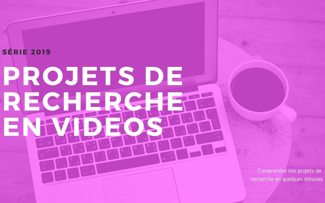 Les projets de recherche ANR en vidéos !