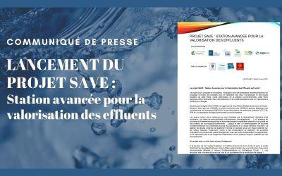 Communiqué de presse : Lancement du projet SAVE