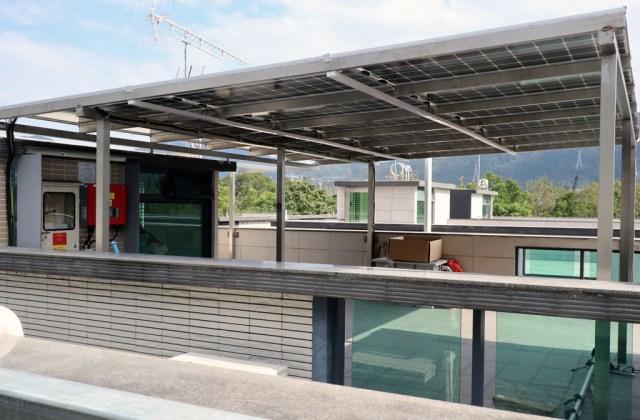 粉嶺龍躍頭小坑村5.58kW太陽能系統不鏽鋼項目