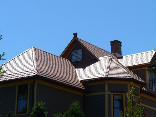 LGC Roofing Installs Composite Slate Roofing