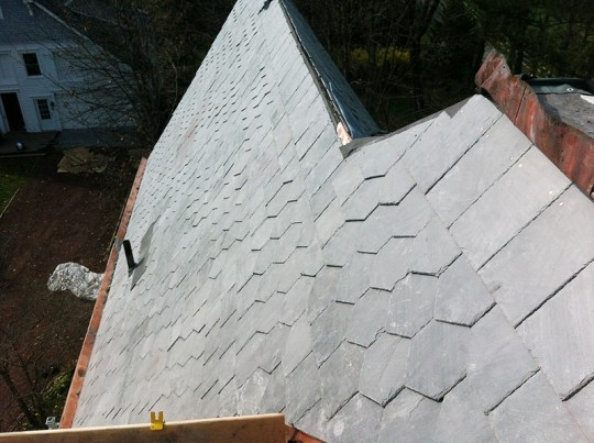 LGC Roofing Installs Natural Slate Roofing