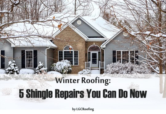 Winter Roofing: 5 Shingle Repairs You Can Do Now