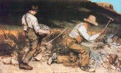 Los picapedreros, 1849