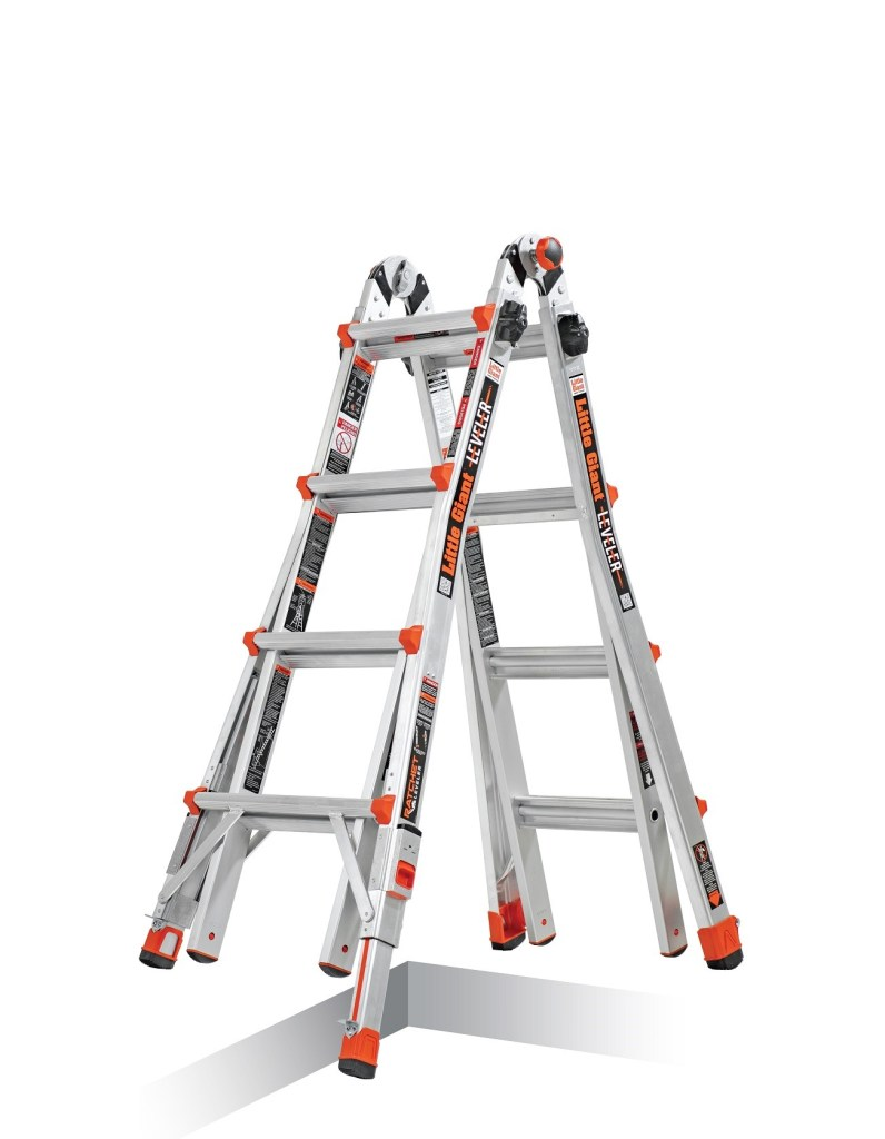 Little Giant Multi-Positional Leveler Ladder
