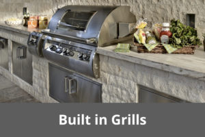 Lakeside Fierplace - Built in Grills