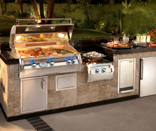 Lakeside Fierplace -Fire Magic_Grills-Outdoor kitchen-2