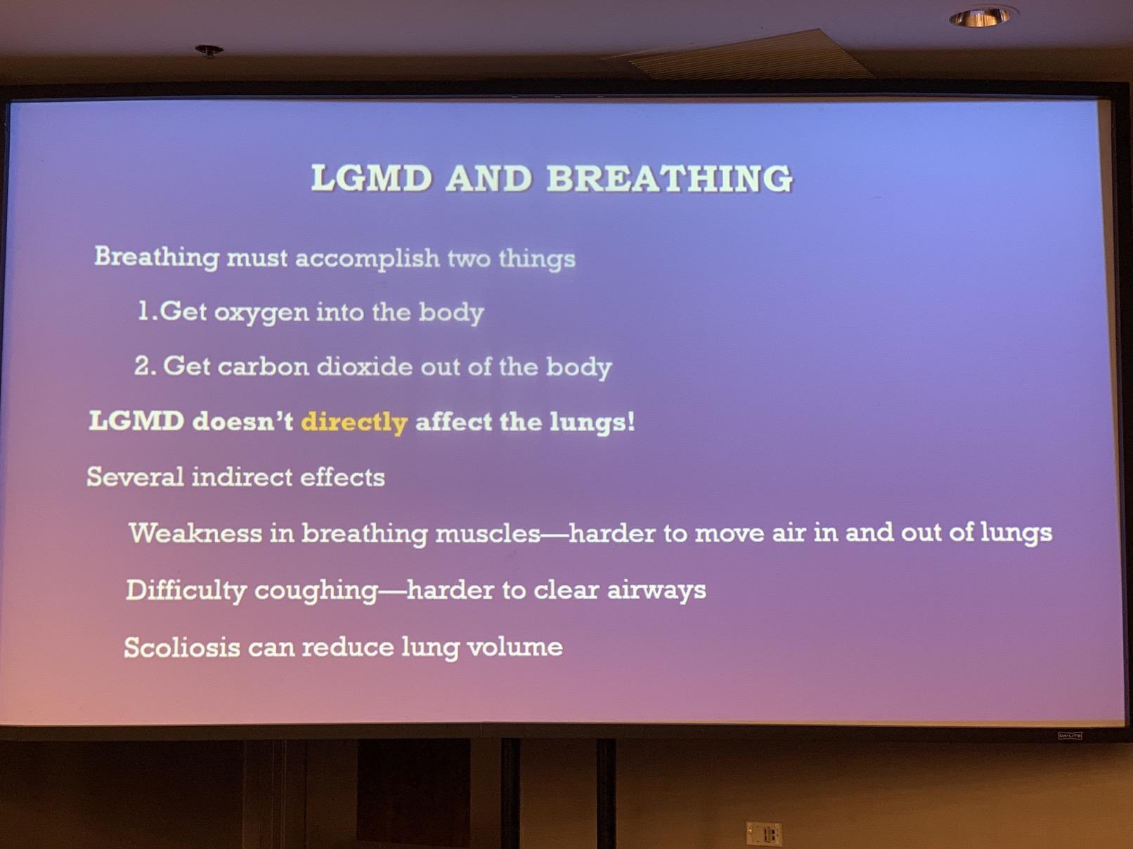 Respiration LGMD | GI LGMD | AFMTELETHON