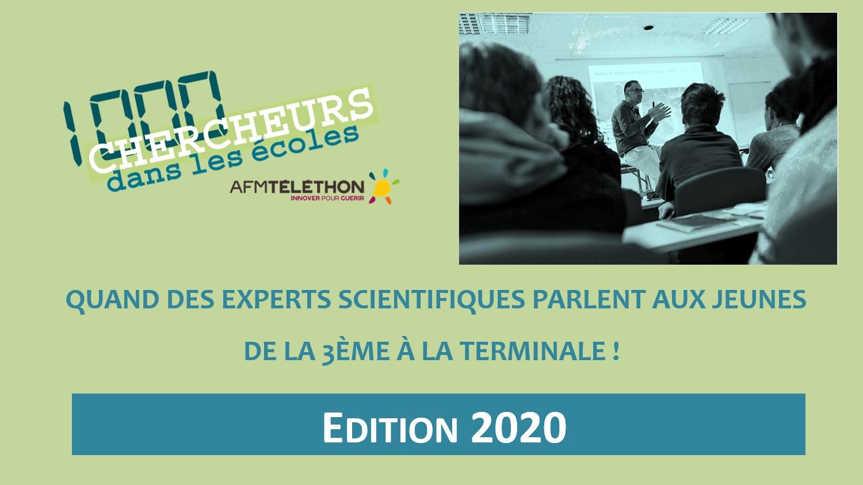 1000 chercheurs dans les ecoles | GI LGMD