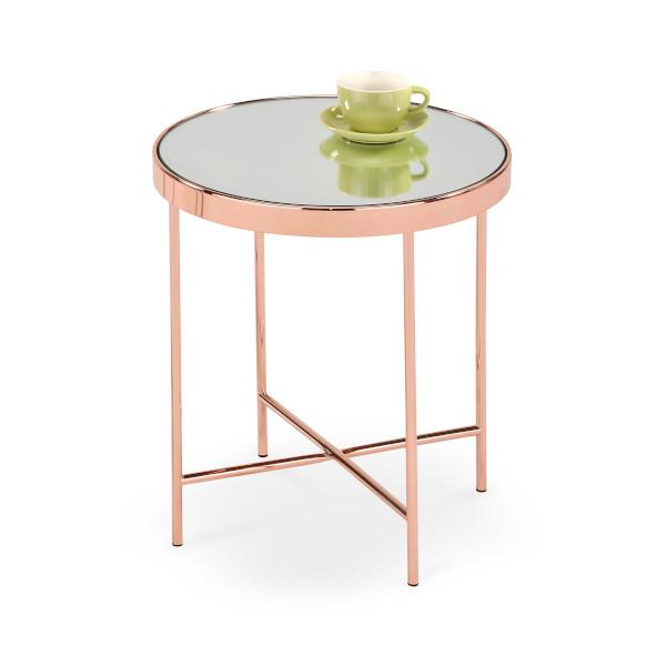 złoty stolik